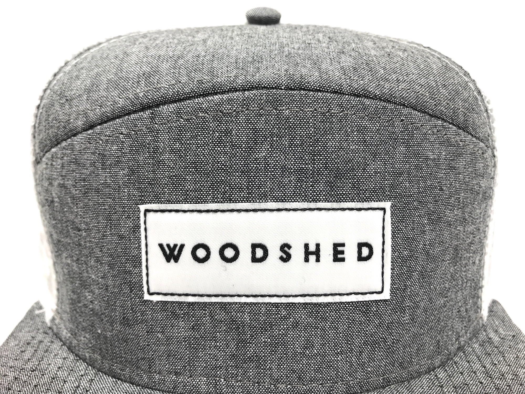 Woodshed Standard Chambray Closeup