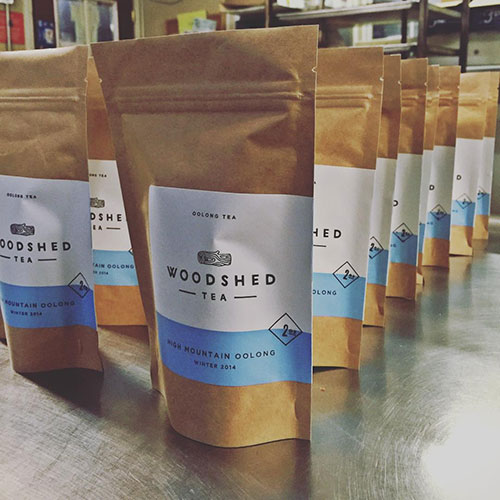 Bags of Woodshed Tea